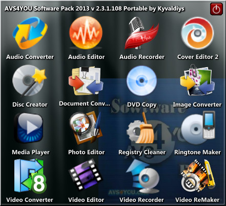 AVS4YOU Software Pack 2013 v2.3.1.108
