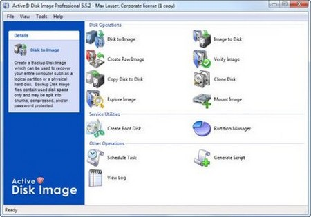Active Disk Image Pro Corporate 5.5.2.