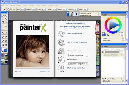 Corel Painter X v 10.0.046 Portable. Corel Painter X - самое мощное
